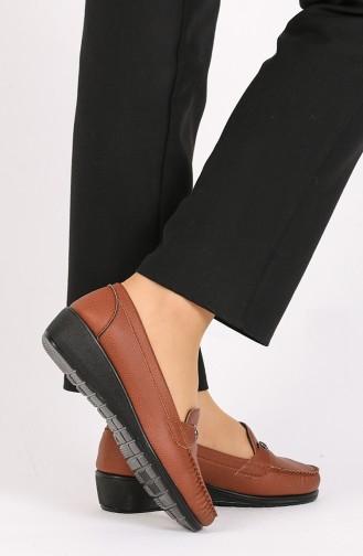 الأحذية الكاجوال أخضر تبغ 0033-03