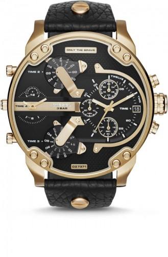 Schwarz Uhren 7371