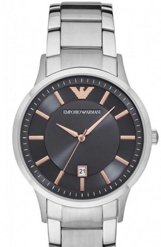 Silbergrau Uhren 2514