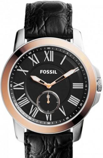 Schwarz Uhren 4943