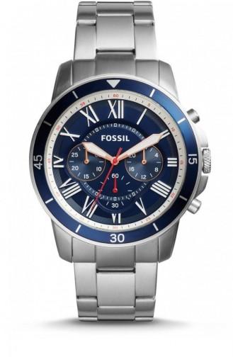 Silbergrau Uhren 5238