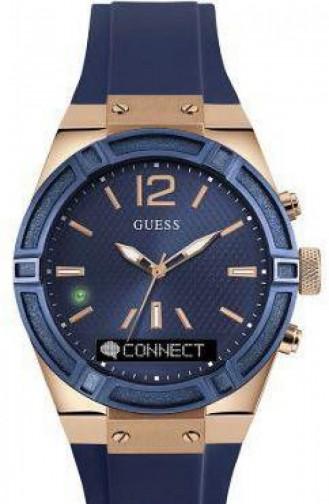 Navy Blue Horloge 0002M1