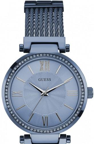 Navy Blue Horloge 0638L3