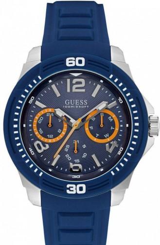 ساعة أزرق كحلي 0967G2