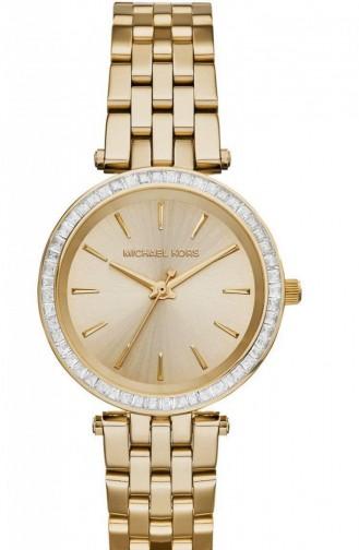 Golden Yellow Watch 3365