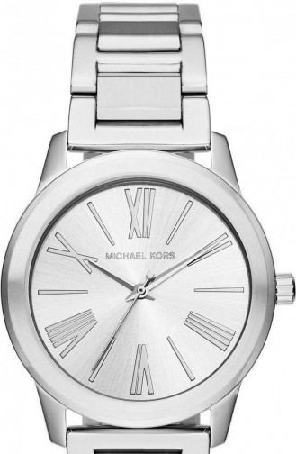 Silver Gray Watch 3489