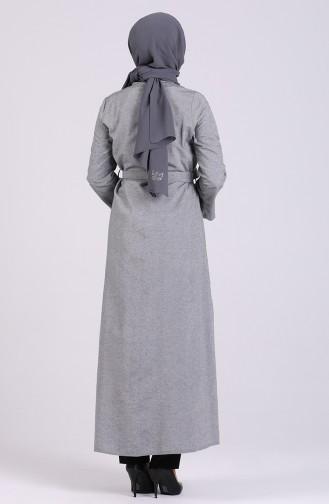 Abayas Gris 1427-03