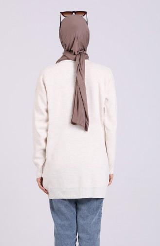 Cream Sweater 2259-07