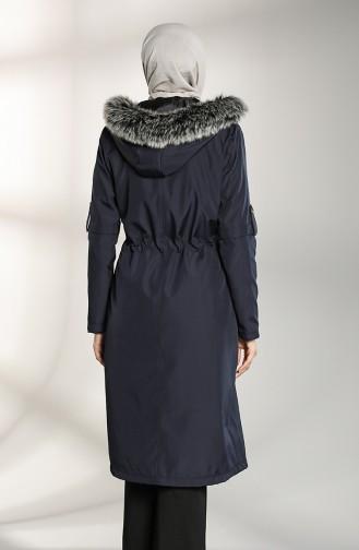 Dunkelblau Coats 8101-01