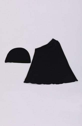 Black Swimsuit Hijab 20171-02