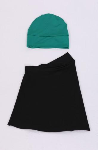 ملابس السباحة أسود 1845-02