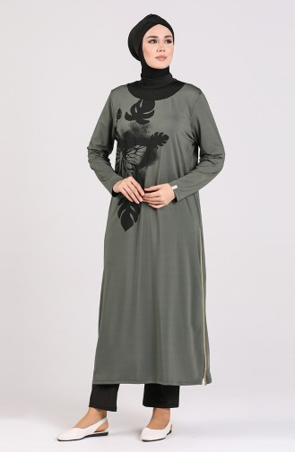 Khaki Swimsuit Hijab 2021-01