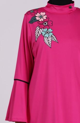 Fuchsia Swimsuit Hijab 2008-01