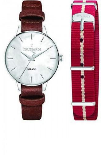 Claret red Horloge 2451120505