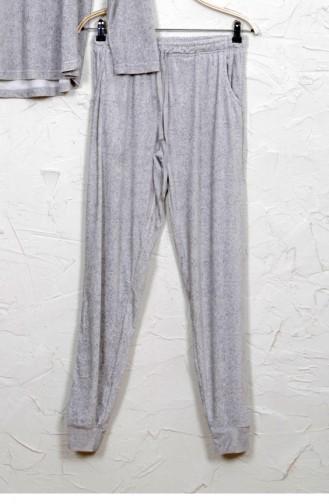 Vienetta Elastan Kadife Pijama Takım 50390000 Grımelanj