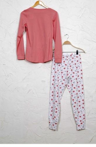 Pyjama Rose Pâle 9030555261.GULKURUSU