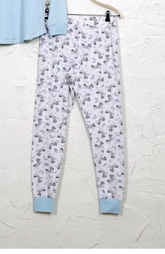 Pyjama Vert Menthe Foncé 9032561534.KOYUMINT