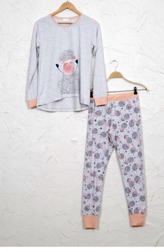 Gray Pyjama 8020857553.GRIMELANJ
