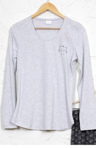 Gray Pyjama 9032191621.GRIMELANJ