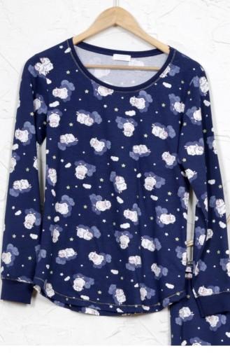 Blue Pajamas 8020257559.MAVI