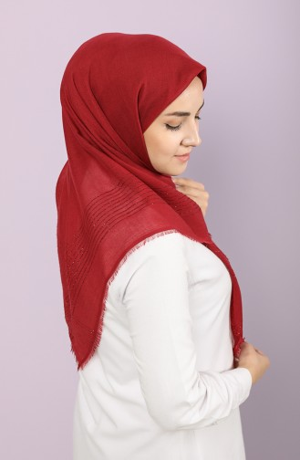 Light Claret Red Hoofddoek 90657-25