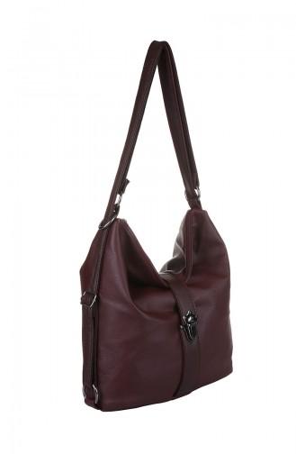 حقيبة كتف أحمر كلاريت 426-031