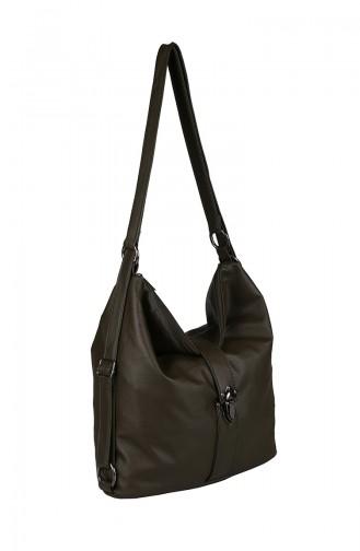 Khaki Shoulder Bag 426-419