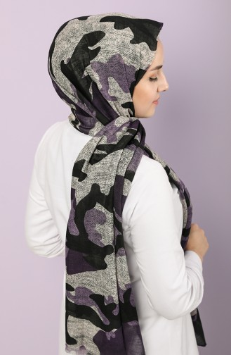 Lilac Shawl 2663-14