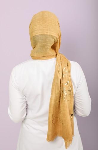 Mustard Shawl 3009-01
