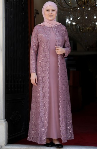 Habillé Hijab Poudre 3293-03