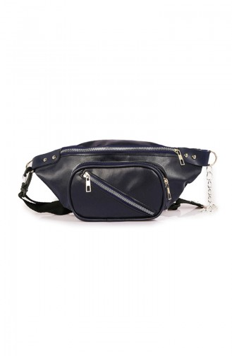 Navy Blue Belly Bag 59Z-02