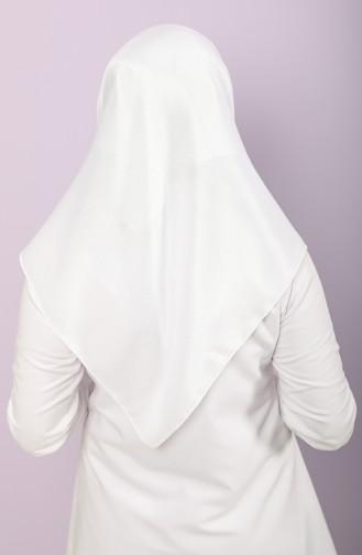 Weiß Kopftuch 15207-10