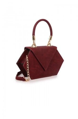 Claret red Shoulder Bag 72Z-03