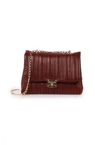 Claret red Shoulder Bag 33Z-03
