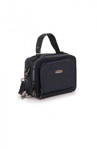 Navy Blue Shoulder Bag 36Z-02
