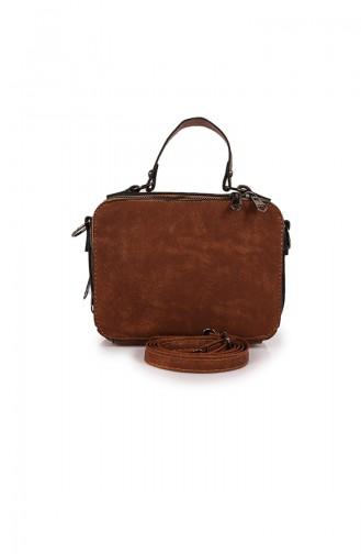 Tobacco Brown Shoulder Bag 36Z-04