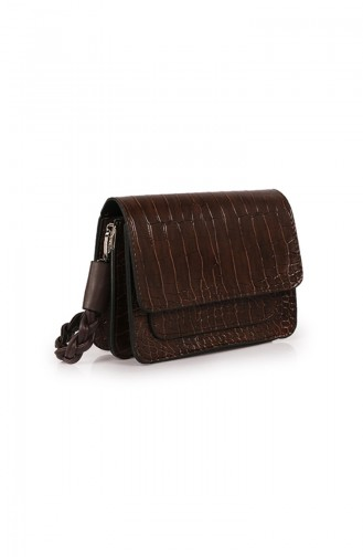 Brown Shoulder Bag 59Z-09