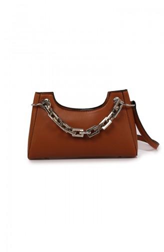 Tobacco Brown Shoulder Bag 61Z-02
