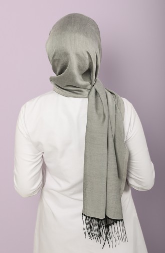Light Gray Shawl 54348-01