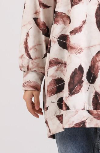 Beige Sweatshirt 5021-01