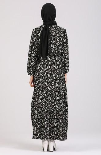 Schwarz Hijap Kleider 1015-01