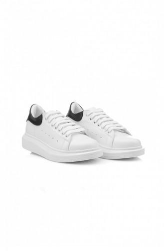 Chaussures Baskets Blanc 35.BEYAZ