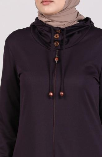 Purple Abaya 2095-05