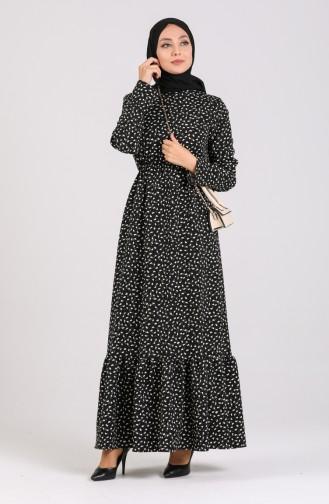 Robe Hijab Noir 2026-01