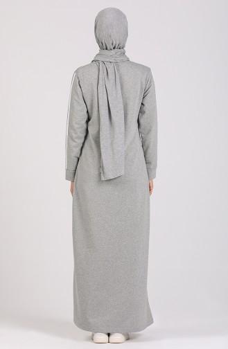 Gray İslamitische Jurk 3500-04