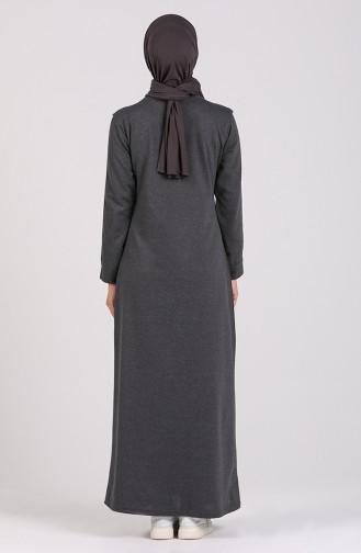 Robe Hijab Fumé 3600-01