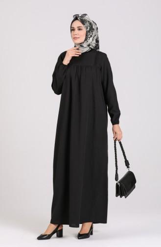 Black İslamitische Jurk 200917-01