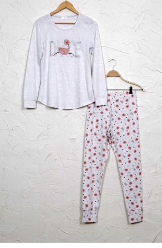 Pyjama Gris 9030555261.GRIMELANJ