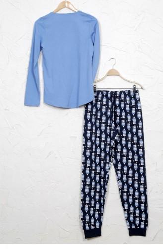 Blue Pyjama 9030313756.MAVI