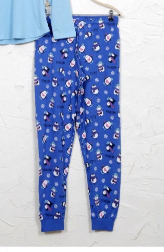 Blue Pyjama 9040964693.MAVI